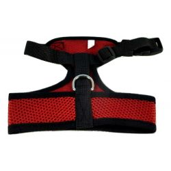 Mesh Comfort Harness Large Red by MoggyorMutt