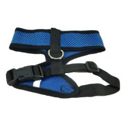 Mesh Comfort Harness Medium Dark Blue by MoggyorMutt
