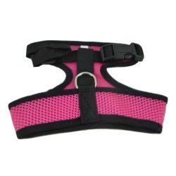 Mesh Comfort Harness Medium Dark Pink by MoggyorMutt