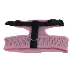 Mesh Comfort Harness Medium Light Pink by MoggyorMutt