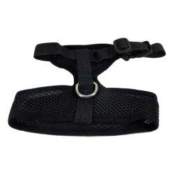 Mesh Comfort Harness Medium Black by MoggyorMutt