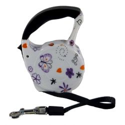 Retractable Automatic Dog Lead  Butterfly 3m by MoggyorMutt