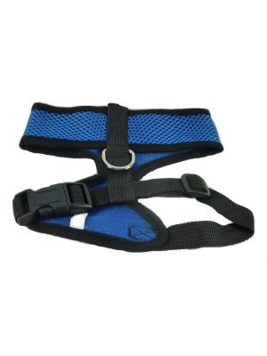 Mesh Comfort Harness Medium Dark Blue by MoggyorMutt