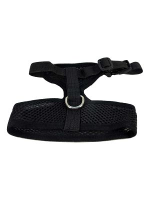 Mesh Comfort Harness Medium Black by MoggyorMutt