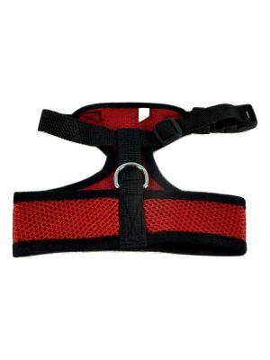 Mesh Comfort Harness Medium Red by MoggyorMutt