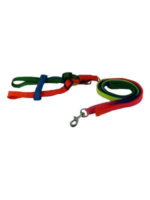 Harness & Lead for Small Dogs, Puppies and Cats Model 7 by MoggyorMutt